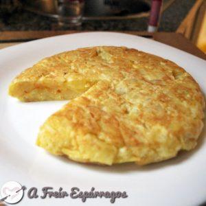 Tortilla patata exprés 12