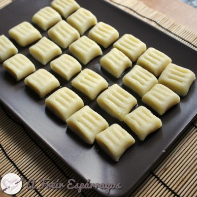 Ñoquis (gnocchis) de patata
