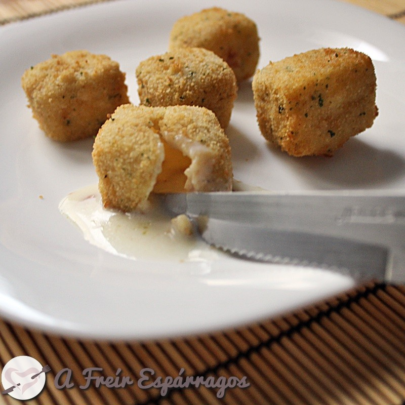 Croquetas líquidas de jamón