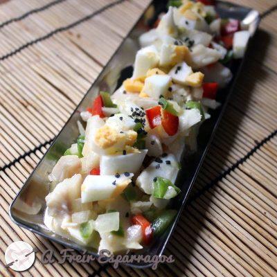 Salpicón de merluza