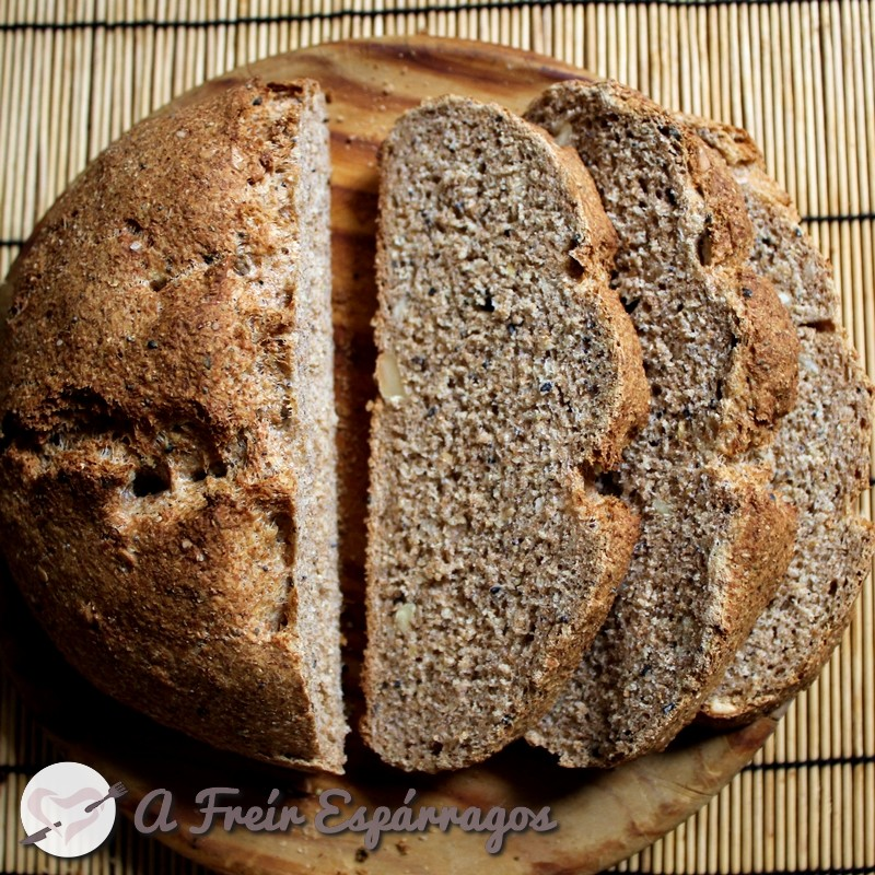 Pan integral exprés para principiantes (sin levado)