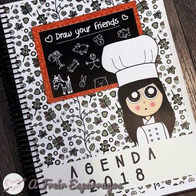 Agenda 2018 (con consejos y menú semanal vegano)