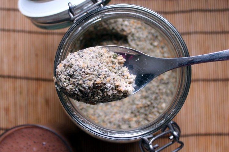 Polvo de proteína casero