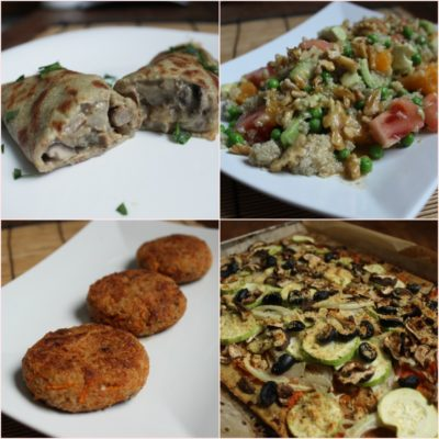 4 cenas rápidas con quinoa